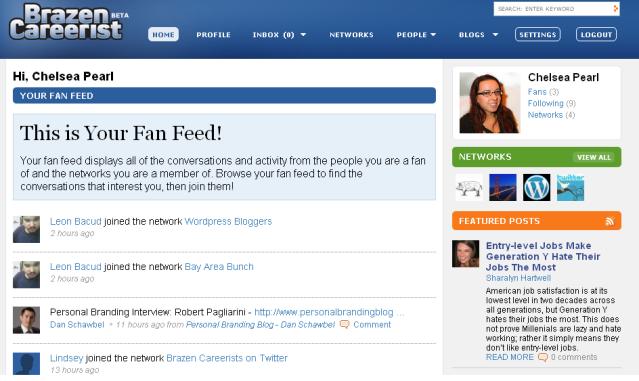 Brazen Careerist Homepage Feed