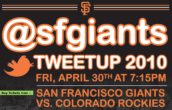 SF Giants Tweetup