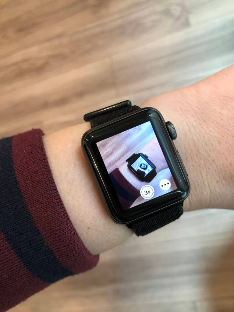 Apple Watch Camera Shutter App Viewfinder